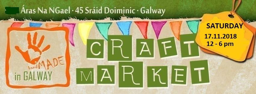 Craft Market, Handmade in Galway 17/11