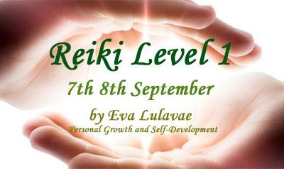 Reiki Level 1 Usui System of Natural Healing 7th-8th/09