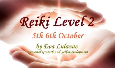 Reiki Level 2 Usui System of Natural Healing 5th-6th/10