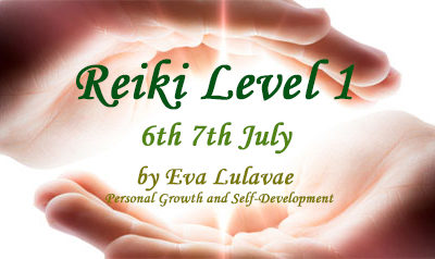 Reiki Level 1 Usui System of Natural Healing 6th-7th / 07