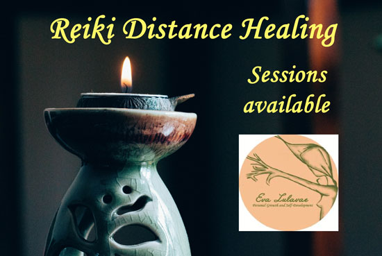 Reiki distance healing sessions 17/03