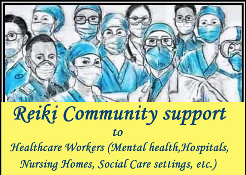 Reiki Community Support to Healthcare workers 05/04
